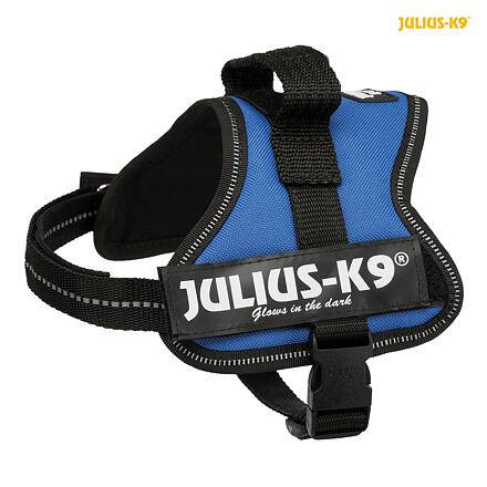 TRIXIE Julius-K9 silový postroj Mini-Mini/S 40-53 cm,  - modrá