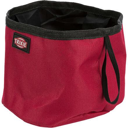 Trixie Cestovní miska na vodu  1,8 l - červená - DOPRODEJ