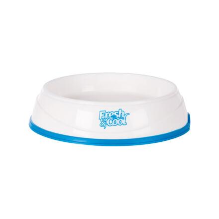 TRIXIE Cool Fresh chladící miska plastová, bílo/modrá 0,25 l/17 cm - DOPRODEJ