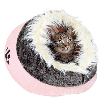 Trixie Pelíšek koule MINOU č.1  35x26x41cm,  - růžová/šedá