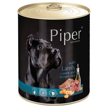 PIPER s jehněčím, mrkví a rýží, konzerva pro psy 800g