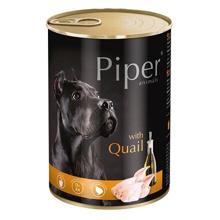 PIPER s křepelkou, konzerva pro psy 400g