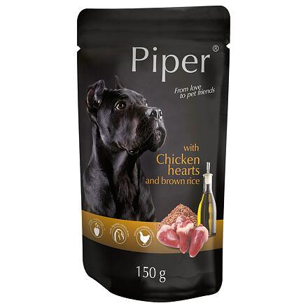 PIPER s jehněčím, mrkví a rýží, kapsička pro psy 150 g