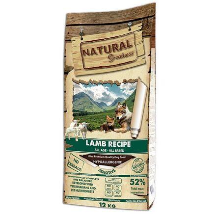 Natural Greatness Lamb Recipe All Breed Sensitiv/jehně/ 12kg