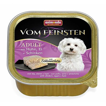 Animonda V.Feinsten CORE kuřecí, vejce + šunka pro psy 150g