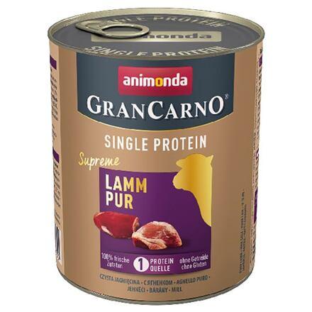 Animonda GRANCARNO Single Protein 800 g čisté jehněčí, konzerva pro psy