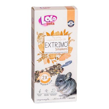 LOLO EXTRIMO SMAKERS tyčinky pro činčily 2ks/100 g