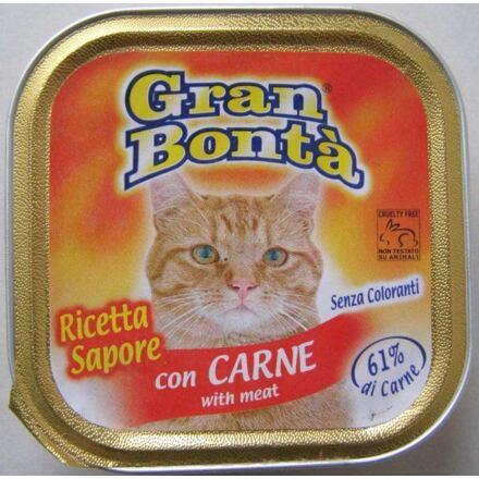 Monge GRAN BONTA paštika s hovězím masem pro kočky 100g