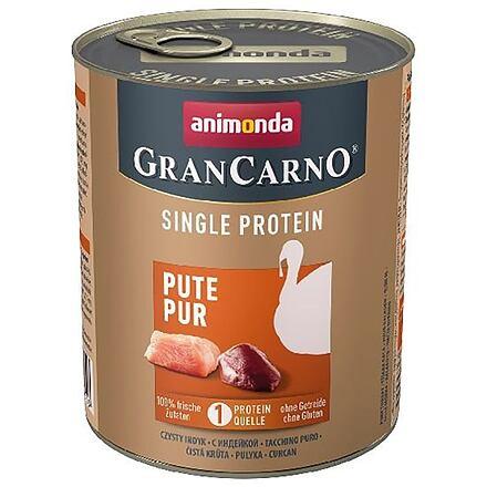 ANIMONDA GRANCARNO Single Protein 800 g čisté krůtí, konzerva pro psy