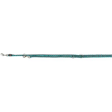 Trixie Vodítko CAVO kulaté prodlužovací S-M  2m/12 mm,  - oceán/grafit