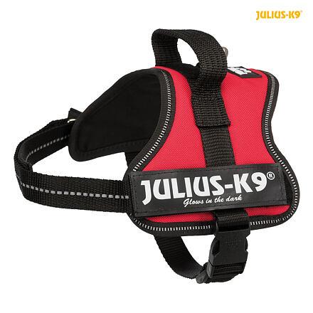 TRIXIE Julius-K9 silový postroj Mini-Mini/S 40-53 cm,  - červená