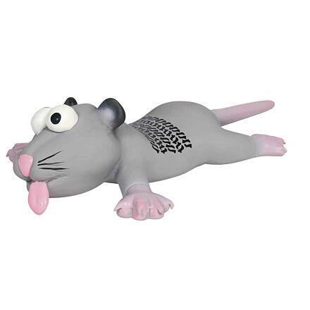 Trixie Latexový chcíplý potkan nebo myška 22 cm