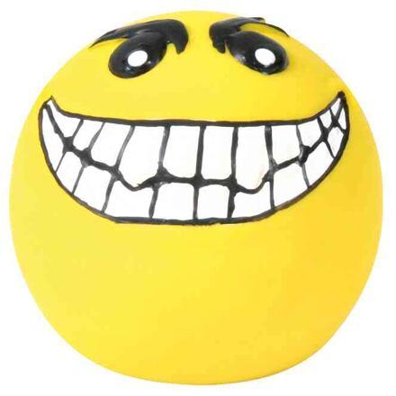 Trixie Latexový smajlík míček, žlutýmalý plněný  6 cm [4]