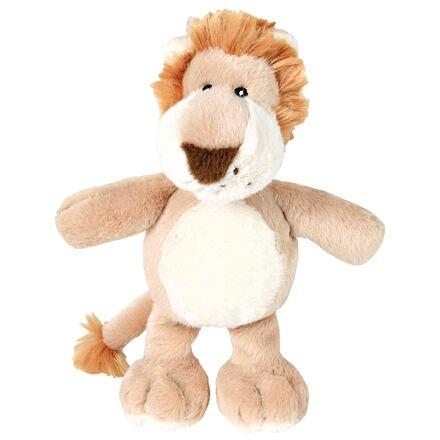 Trixie Plyšový lev, béžovo-krémový, se zvukem 22 cm
