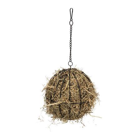 Závěsný kovový míč na seno, lakovaný, 16cm