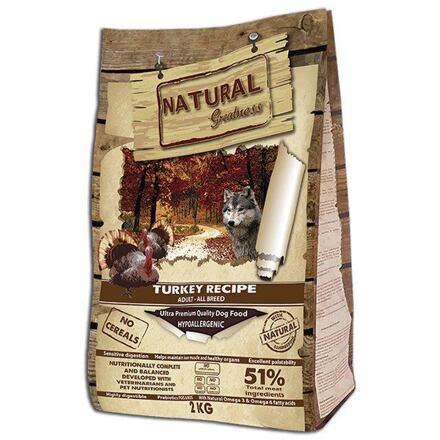 Natural Greatness Turkey Recipe All B./krůta,kachna,kuře/2kg