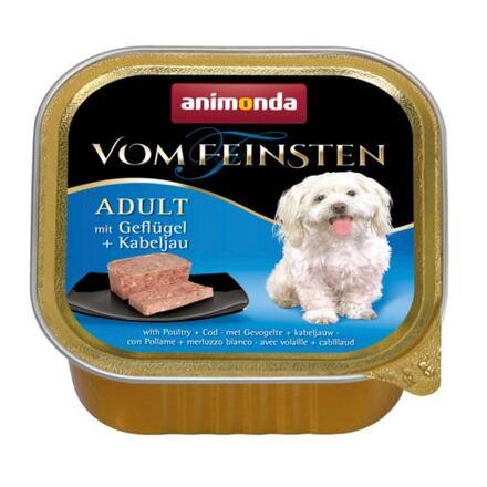 ANIMONDA paštika ADULT - drůbeží+treska obecná pro psy 150g