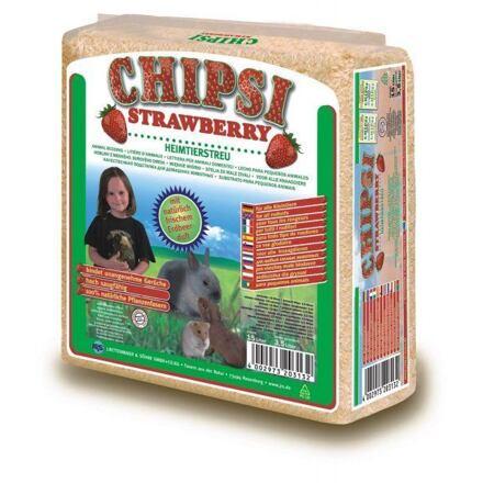 JRS CHIPSI lisované hobliny JAHODA  15 L / 1 kg - DOPRODEJ