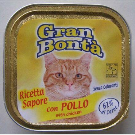 Monge GRAN BONTA paštika s kuřecím masem pro kočky 100g